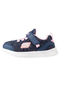 Skechers - COMFY FLEX - Sneakers laag - navy/pink