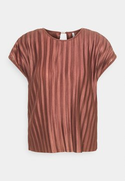 ONLY - ONLELEMA ONECK BOX - Blouse - apple butter