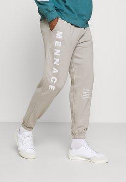 Mennace - ON THE RUN - Jogginghose - grey