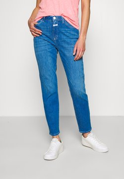 CLOSED - BAKER HIGH HIGH WAIST CROPPED LENGTH - Jeans slim fit - mid blue