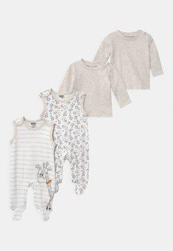 Jacky Baby - 2 PACK UNISEX - Pyjama - white/beige