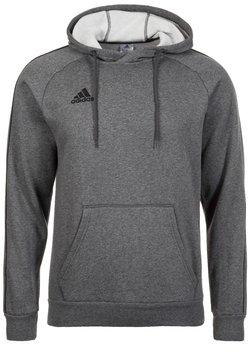 adidas Performance - CORE ELEVEN FOOTBALL HODDIE SWEAT - Kapuzenpullover - grey/black