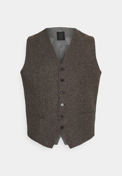 Shelby & Sons - PERRY WAISTCOAT PLUS - Veste sans manches - brown