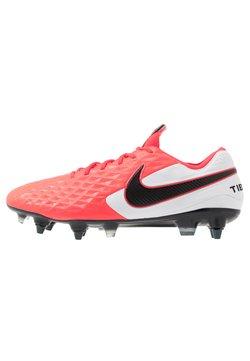 Nike Performance - TIEMPO LEGEND 8 ELITE SG-PRO AC - Fußballschuh Stollen - laser crimson/black/white