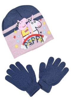 Peppa Pig - SET - Fingerhandschuh - blau