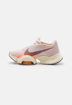 Nike Performance - AIR ZOOM SUPERREP 2 - Zapatillas de entrenamiento - coconut milk/black/light arctic pink/total orange/crimson bliss