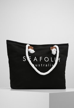 Seafolly - SHIP SAIL TOTE - Beach accessory - black