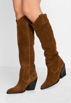 Bronx - NEW-KOLE - High heeled boots - cognac