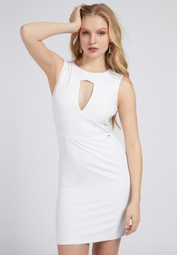 Guess - PATTI DRESS - Etui-jurk - weiß