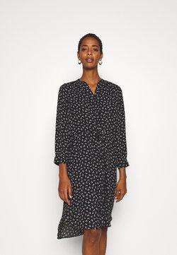Selected Femme Tall - SLFDAMINA 7/8 DRESS - Vapaa-ajan mekko - black