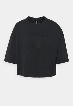 Converse - WOMENS PREMIUM TEE - T-shirt imprimé - black