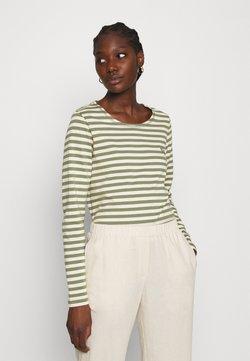 Carin Wester - NEVADA  - Langarmshirt - green/white