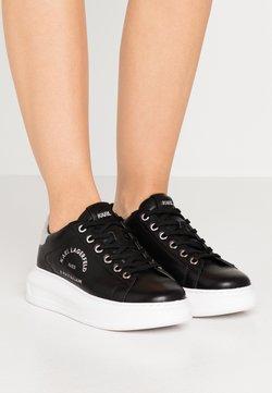 KARL LAGERFELD - KAPRI MAISON LACE - Sneaker low - black/silver