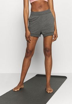 Nike Performance - CORE SHORT - Jogginghose - black/dark smoke grey