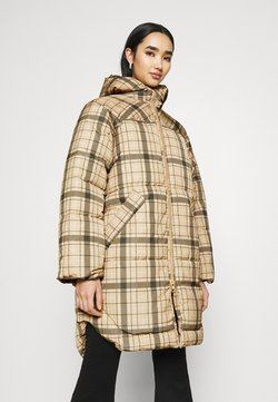 Weekday - RUT PUFFER JACKET - Wintermantel - beige/green
