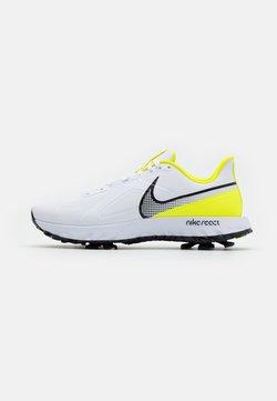 Nike Golf - REACT INFINITY PRO - Golfkengät - white/black/lemon