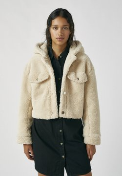 PULL&BEAR - Winterjacke - beige