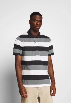 Nike Sportswear - MATCHUP STRIPE - Polo - black/white