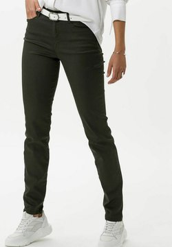 BRAX - STYLE SHAKIRA - Slim fit jeans - clean dark olive