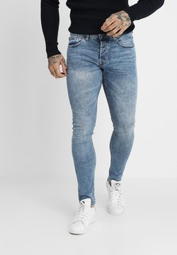 Only & Sons - ONSSPUN WASHED - Slim fit jeans - blue denim