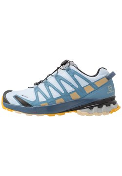 Salomon - XA PRO 3D V8 GTX - Zapatillas de trail running - kentucky blue/dark denim/pale khaki