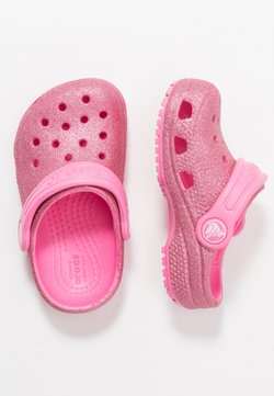 Crocs - CLASSIC GLITTER - Badslippers - pink lemonade