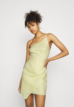 NA-KD - MINI DRESS - Cocktailkleid/festliches Kleid - dusty yellow