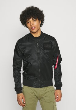 Alpha Industries - CUSTOM - Giubbotto Bomber - black
