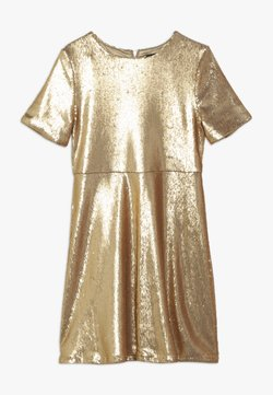 Bardot Junior - SEQUIN DRESS - Cocktailkleid/festliches Kleid - gold