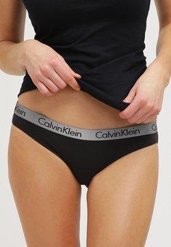 Calvin Klein Underwear - RADIANT COTTON  - Slip - black