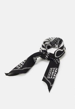 Only & Sons - ONSHAYS BANDANA UNISEX - Foulard - black/white