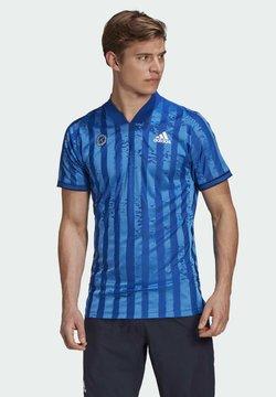 adidas Performance - T-Shirt print - blue