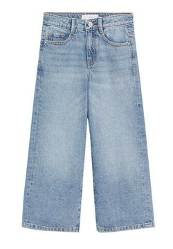 Mango - CULOTTE8 - Straight leg jeans - middenblauw