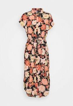 PIECES Tall - PCNYA SHIRT DRESS - Blusenkleid - black
