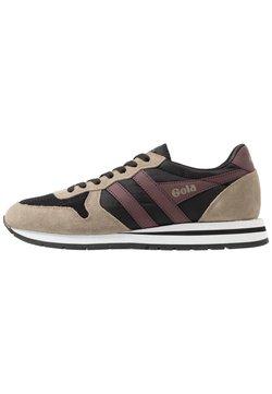 Gola - DAYTONA - Sneakers laag - black/rhino/burgundy