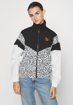 Puma - TRACK JACKET - Windbreaker - black