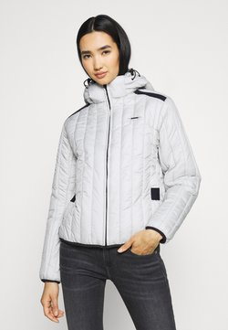 G-Star - MEEFIC VERTICAL QUILTED JACKET - Winterjacke - oyster blue