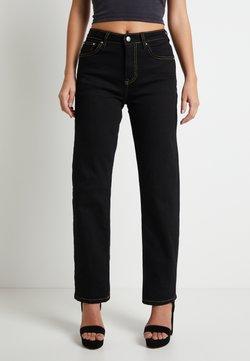 Pepe Jeans - DUA LIPA X PEPE JEANS - Jeans Straight Leg - black