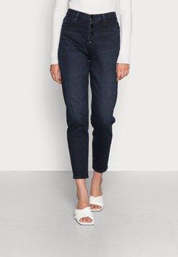 Calvin Klein Jeans - MOM JEAN - Jean droit - denim dark