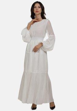 faina - KLEID - Robe longue - weiss