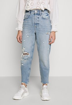 River Island Petite - Relaxed fit jeans - midwash