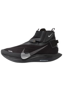 Nike Performance - ZOOM PEGASUS TURBO SHIELD WP - Neutrala löparskor - black/metallic silver