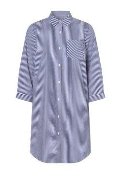 Marie Lund - Hemd - blau weiß