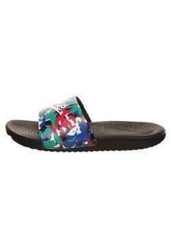 Nike Performance - KAWA SLIDE SE - Sandales de bain - black/white/ hyper blue