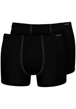 Schiesser - ESSENTIAL SHORTS 2 PACK - Shorty - black