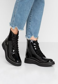Madden Girl - KURRT - Botines con plataforma - black