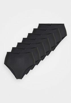 Anna Field - 7 PACK - Slip - black