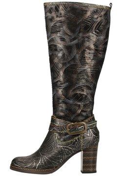 LAURA VITA - High Heel Stiefel - acier