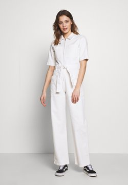 BDG Urban Outfitters - BELTED BOILERSUIT - Combinaison - stone