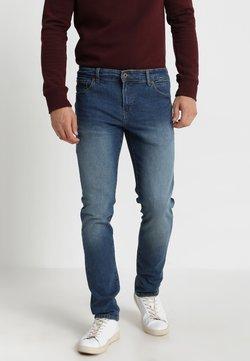 Solid - RYDER - Jeans a sigaretta - blue denim